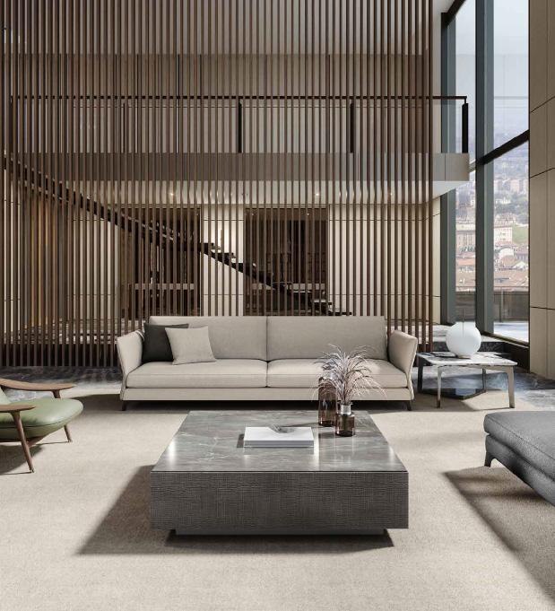 BLOSSOM divano componibile | CLIFF tavolino | WAVE tavolino