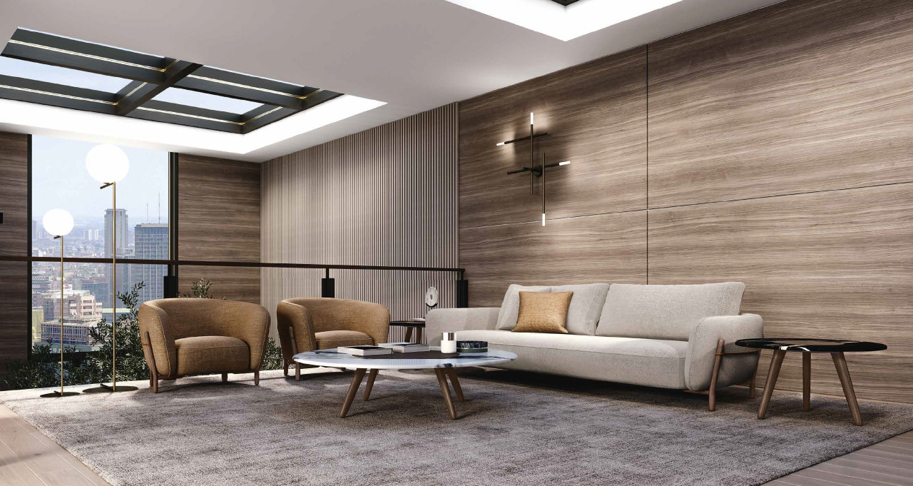 IVY divano | IVY poltrona | LOTUS tavolini